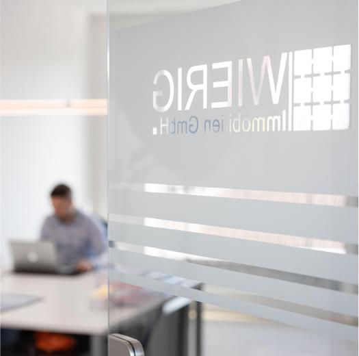 Firmenprofil Eingang